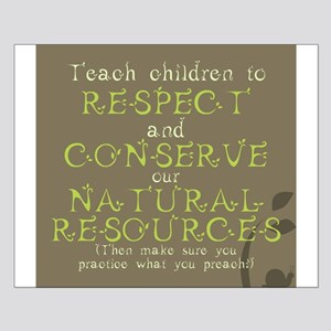 Nature Conservation Small Poster