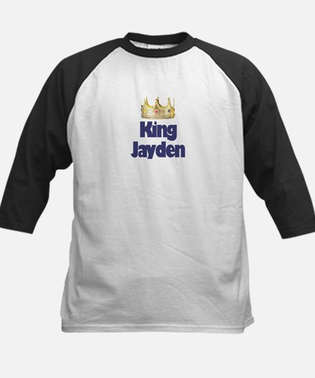 King Jayden Kids Baseball Jersey