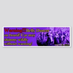 Tribal American Belly Dance Bumper Sticker