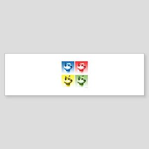 Norwich Pop Bumper Sticker