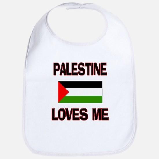 Palestine Loves Me Bib