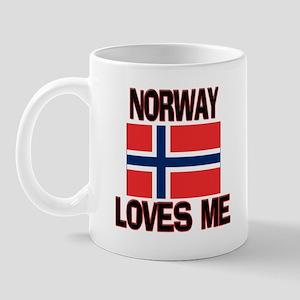 Norway Loves Me Mug