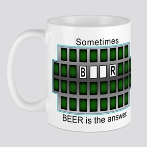 Sometimes Beer is the Answer Mug