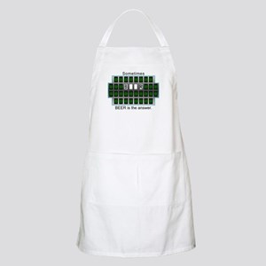 Sometimes Beer is the Answer BBQ Apron
