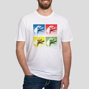 Rhodesian Pop Fitted T-Shirt