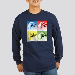 Rhodesian Pop Long Sleeve Dark T-Shirt