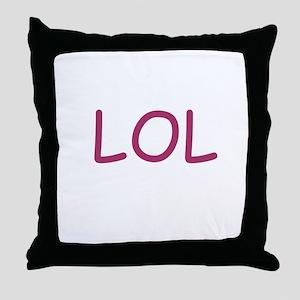 LOL Throw Pillow