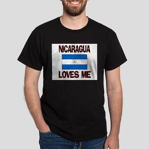Nicaragua Loves Me Dark T-Shirt