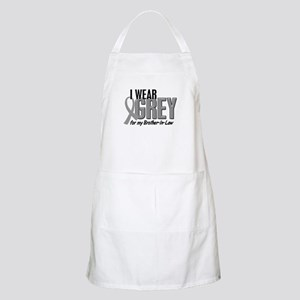 I Wear Grey For My Brother-In-Law 10 BBQ Apron