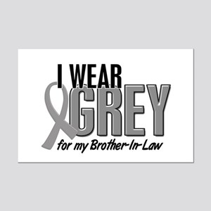 I Wear Grey For My Brother-In-Law 10 Mini Poster P