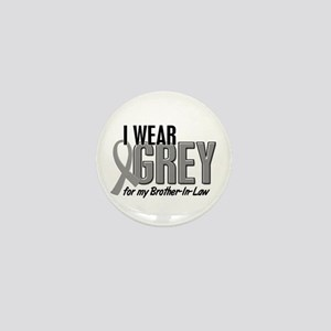 I Wear Grey For My Brother-In-Law 10 Mini Button