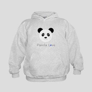 Panda Love (Boy) Kids Hoodie