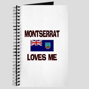Montserrat Loves Me Journal