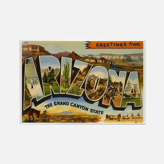 Arizona AZ Rectangle Magnet