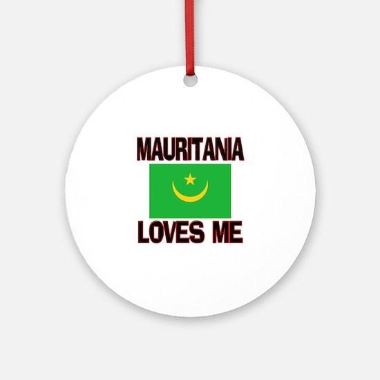Mauritania Loves Me Ornament (Round)