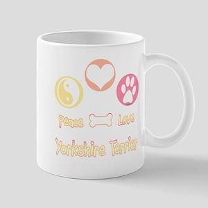 Yorkie Peace Mug