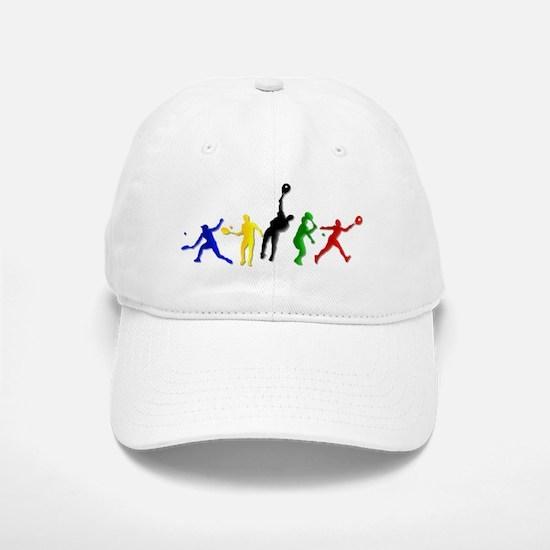 Tennis Players Baseball Baseball Cap