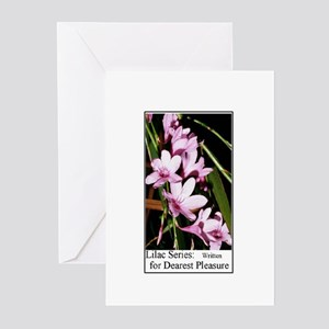 Lilac Series Note Cards (Pk of 10)