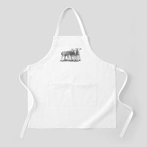 BBQ Apron~Whisper Lambs