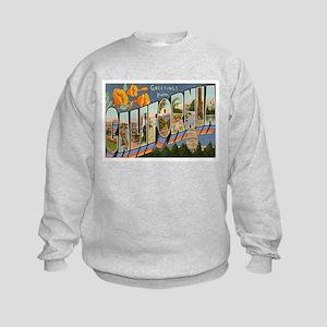 California CA Kids Sweatshirt