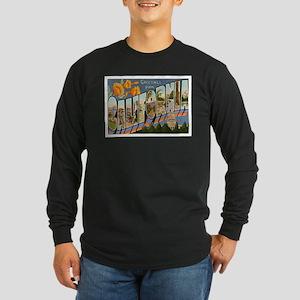 California CA Long Sleeve Dark T-Shirt