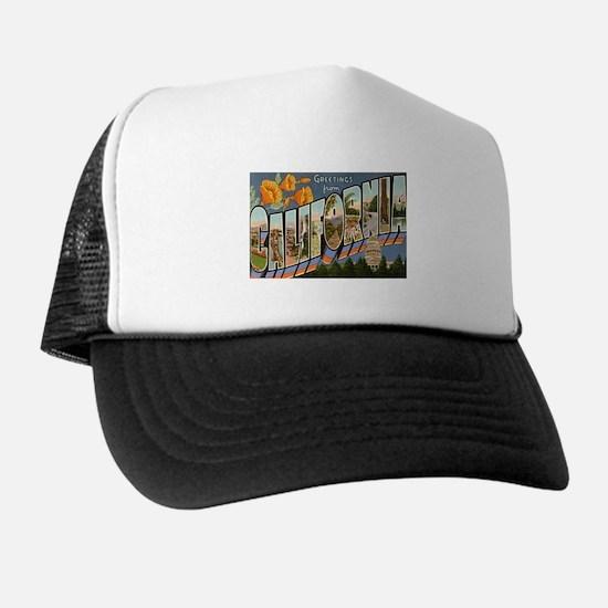 California CA Trucker Hat
