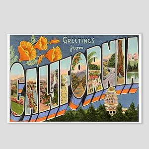 California postcards cafepress california ca postcards package of 8 m4hsunfo