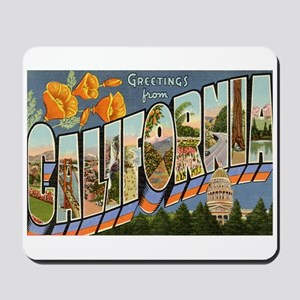 California CA Mousepad