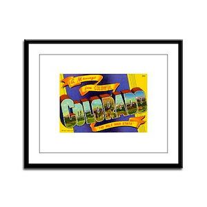 Colorado CO Framed Panel Print