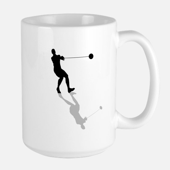Hammer Throw Large Mug