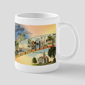 Connecticut CT Mug