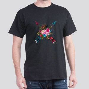 Watercolor Floral Arrow Bouquet T-Shirt