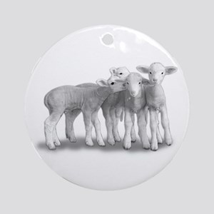 Keepsake (Round) Whisper Lambs