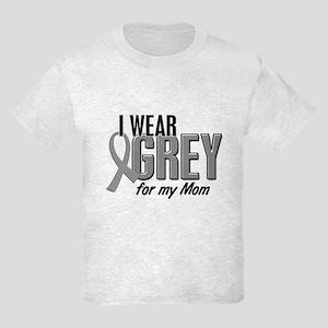 I Wear Grey For My Mom 10 Kids Light T-Shirt