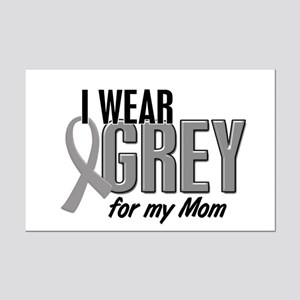 I Wear Grey For My Mom 10 Mini Poster Print