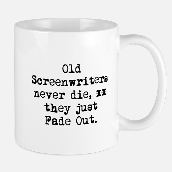 Old Writers Never Die... Mug