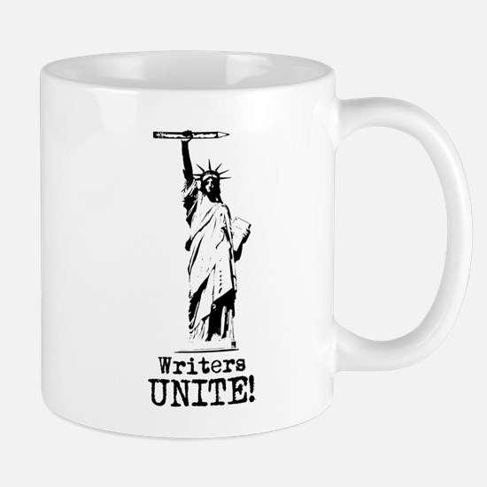 Writers Unite! (Black) Mug