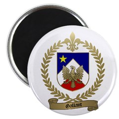 GALLANT Family Crest Magnet