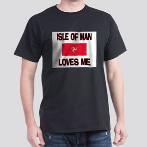 Isle Of Man Loves Me Dark T-Shirt