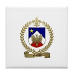 GALLANT Family Crest Tile Coaster