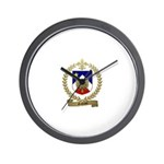 GALLANT Family Crest Wall Clock