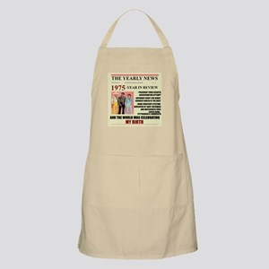 born in 1975 birthday gift BBQ Apron