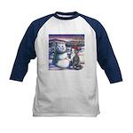 Snowcats Kids Baseball Jersey
