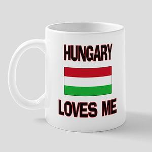 Hungary Loves Me Mug