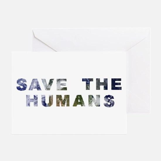 humans Greeting Card