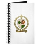 MELANSON Family Crest Journal