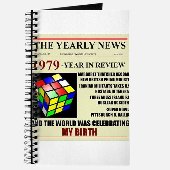 born in 1979 birthday gift Journal