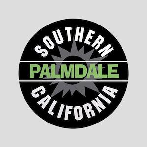 "Palmdale California 3.5"" Button"