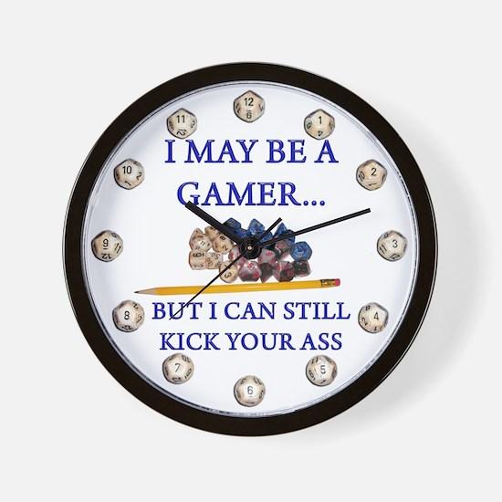 I May Be A Gamer ... Wall Clock