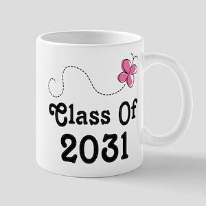 Class Of 2031 Butterfly Mugs
